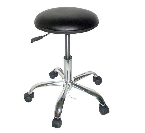 防静电PU皮革椅 防静电工作椅 防静电圆凳RS-201a