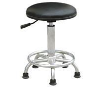 防静电PU皮革椅,防静电工作椅,防静电圆凳RS-201a