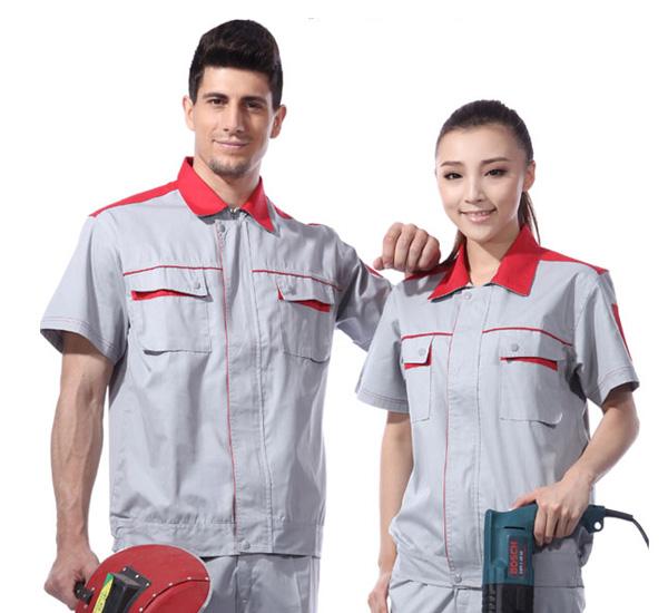 加油站防静电工作服 短袖