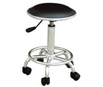 防静电PU皮革椅 防静电工作椅 防静电圆凳RS-201b