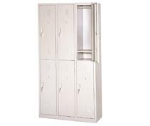 六门工衣柜 员工储物柜 工衣柜 更衣柜