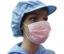 满版印花儿童口罩